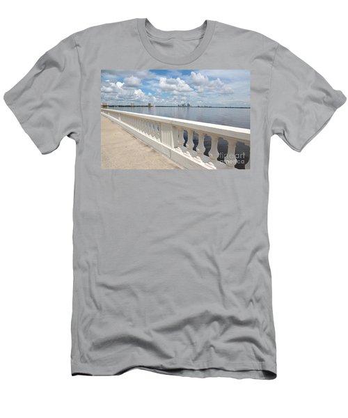 Bayshore Boulevard Balustrade Men's T-Shirt (Athletic Fit)