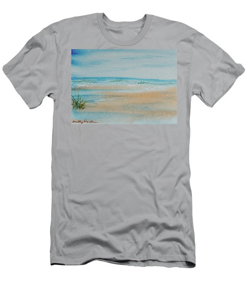 Beach At High Tide Men's T-Shirt (Athletic Fit)