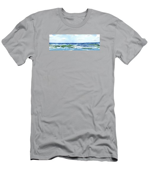 Beach At Isle Of Palms Two Men's T-Shirt (Athletic Fit)