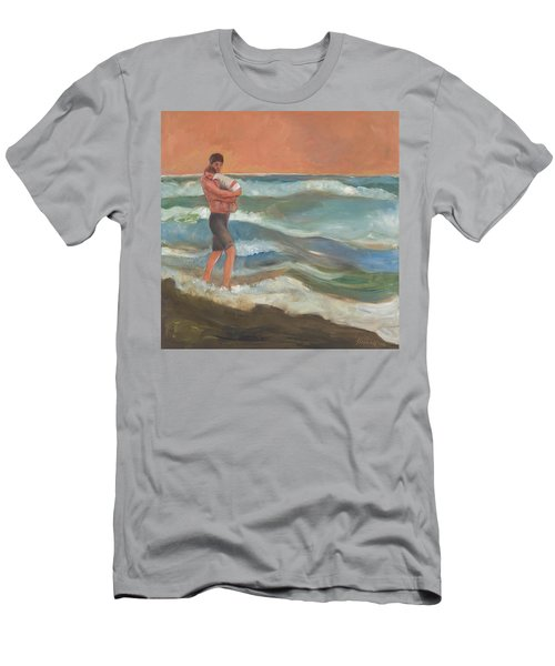 Beach Baby Men's T-Shirt (Athletic Fit)