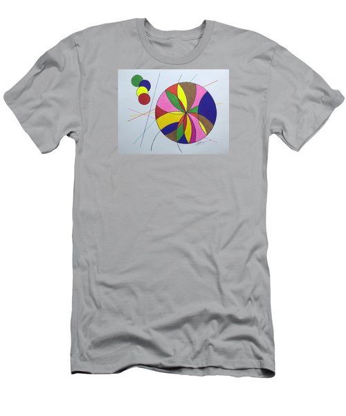 Beach Ball Time Men's T-Shirt (Athletic Fit)