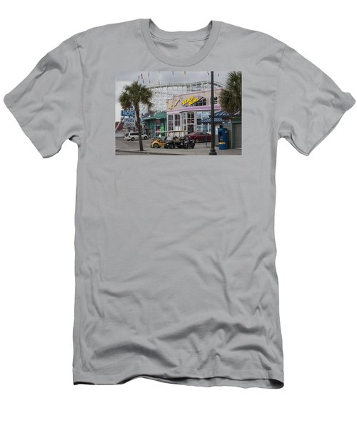 Beach Bums - Myrtle Beach South Carolina Men's T-Shirt (Slim Fit) by Suzanne Gaff