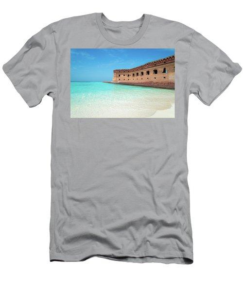 Beach Fort Men's T-Shirt (Athletic Fit)