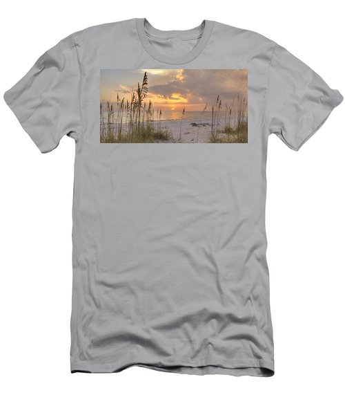 Beach Grass Sunset Men's T-Shirt (Athletic Fit)