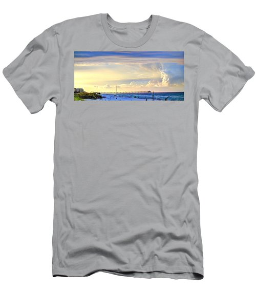 Beach House Window Men's T-Shirt (Athletic Fit)