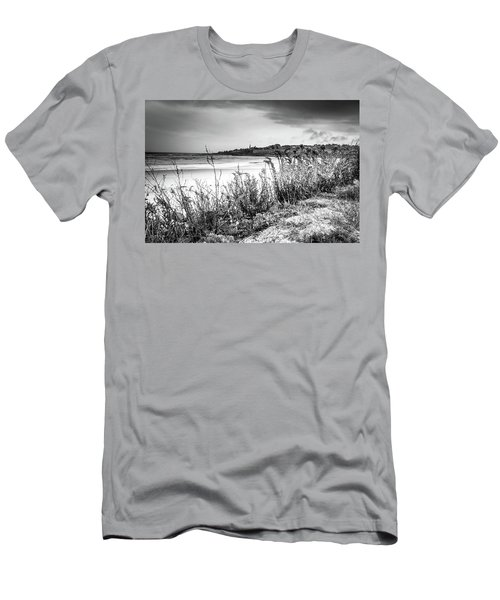 Beach In Ogunquit Men's T-Shirt (Athletic Fit)