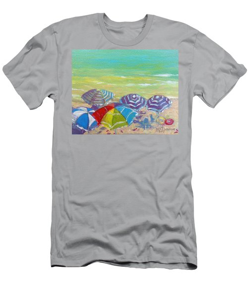 Beach Is Best Men's T-Shirt (Athletic Fit)