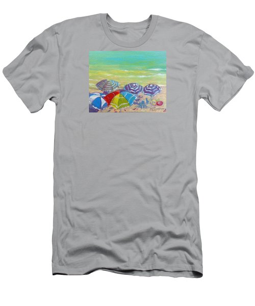 Beach Is Best Men's T-Shirt (Athletic Fit)
