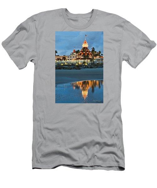 Beach Lights Men's T-Shirt (Athletic Fit)