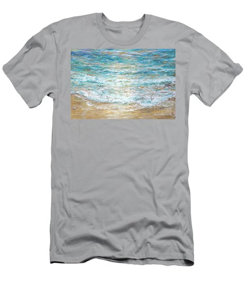 Beach Tide Men's T-Shirt (Athletic Fit)