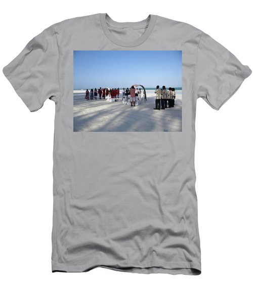 Beach Wedding In Kenya Men's T-Shirt (Athletic Fit)