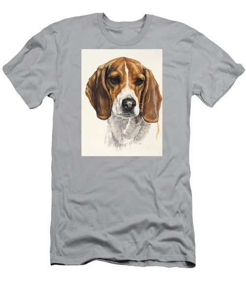 Beagle Men's T-Shirt (Slim Fit) by Barbara Keith