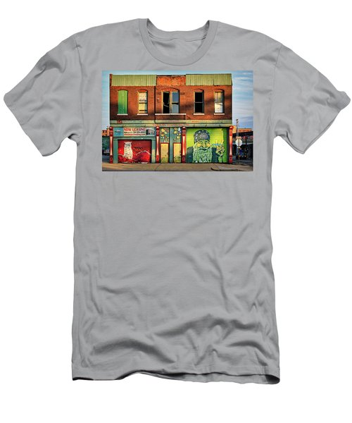 Beardy Mcgreen Men's T-Shirt (Athletic Fit)