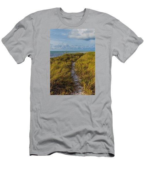 Beaten Path Men's T-Shirt (Slim Fit) by Swank Photography