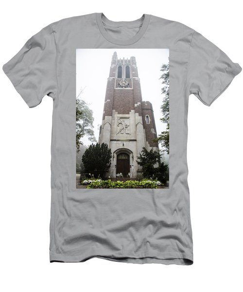Beaumont Tower In The Fog  Men's T-Shirt (Athletic Fit)