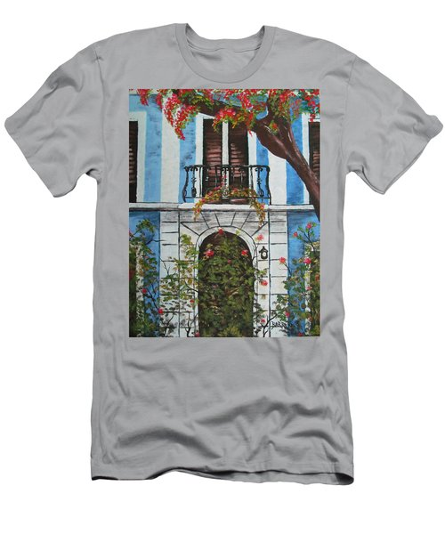 Beauty In Old San Juan Men's T-Shirt (Athletic Fit)