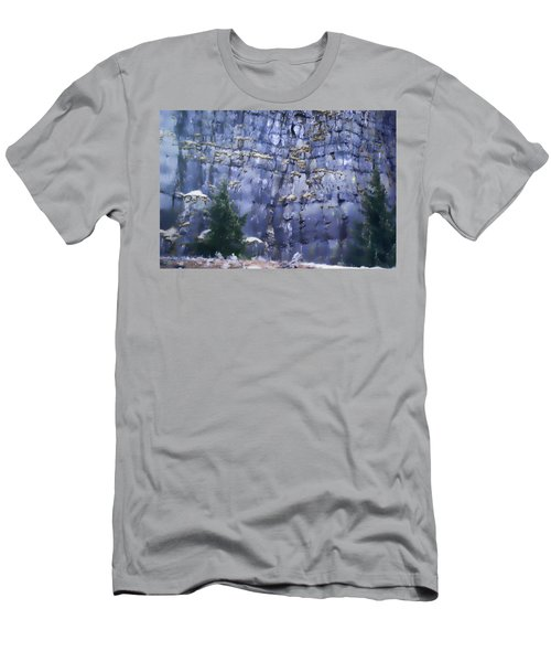 Men's T-Shirt (Slim Fit) featuring the photograph Beauty Of The Gorge by Dale Stillman