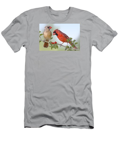Beauty On A Branch Men's T-Shirt (Slim Fit) by Bonnie Barry