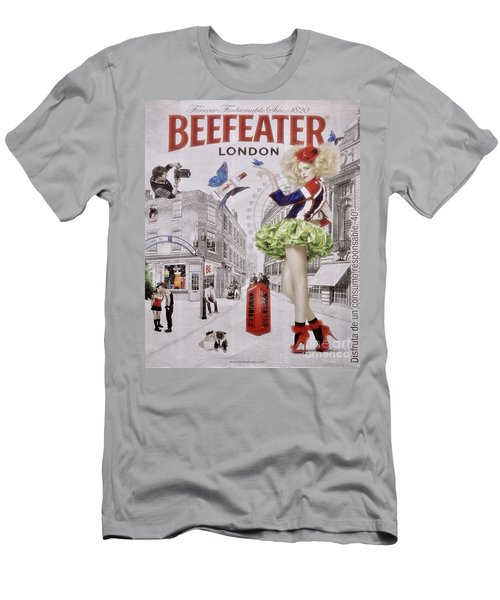 Beefeater Gin Men's T-Shirt (Athletic Fit)