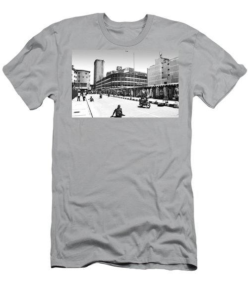 Pz, Broad Street Men's T-Shirt (Athletic Fit)