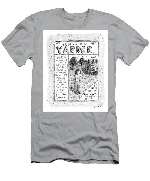 Beginning Yarder Men's T-Shirt (Athletic Fit)