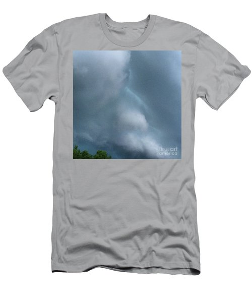 Behold He Cometh With Clouds Men's T-Shirt (Athletic Fit)