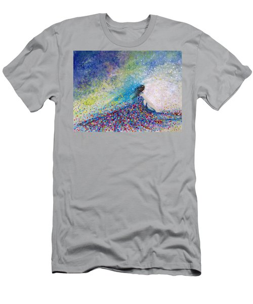 Being A Woman - #5 In A Daydream Men's T-Shirt (Slim Fit) by Kume Bryant