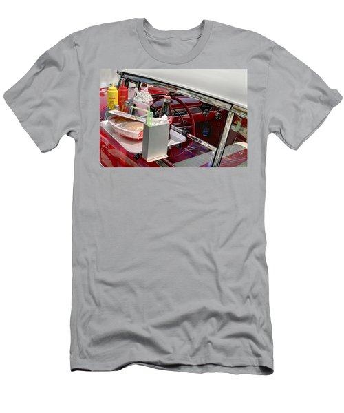 Bel Air 1956. Miami Men's T-Shirt (Athletic Fit)