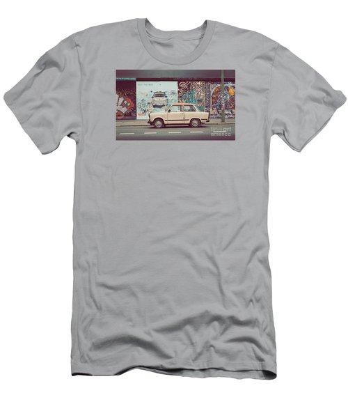 Berlin East Side Gallery Men's T-Shirt (Slim Fit) by JR Photography