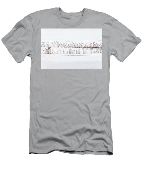 Between The Lines - Men's T-Shirt (Athletic Fit)