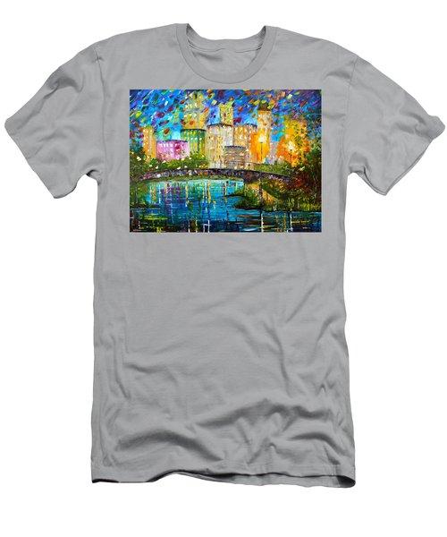 Beyond The Bridge Men's T-Shirt (Athletic Fit)