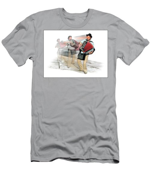 Bi Location Polka Men's T-Shirt (Slim Fit) by Marty Garland