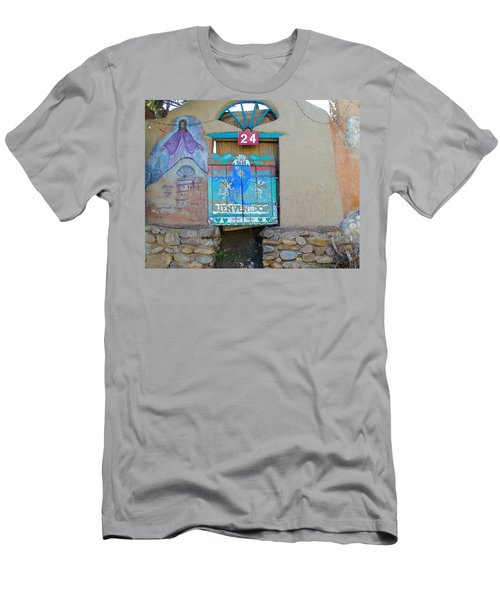 Men's T-Shirt (Athletic Fit) featuring the photograph Bienvenidos 24 by Joseph R Luciano