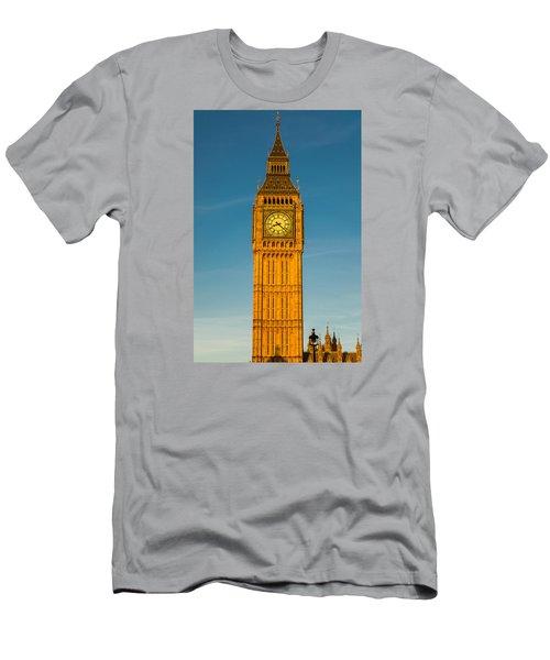 Big Ben Tower Golden Hour London Men's T-Shirt (Athletic Fit)