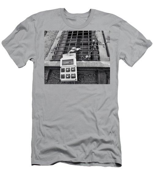 Big Buttons Men's T-Shirt (Athletic Fit)