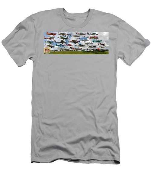 Big Muddy Fly-by Collage Men's T-Shirt (Athletic Fit)