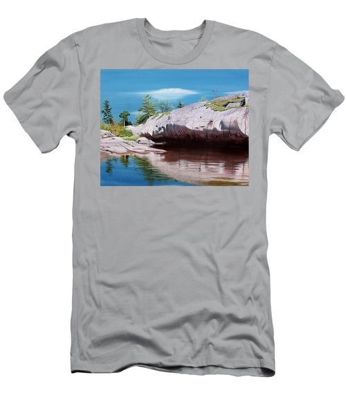 Big River Rock Men's T-Shirt (Athletic Fit)
