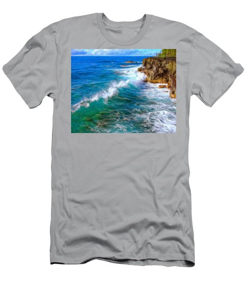 Big Sur Coastline Men's T-Shirt (Athletic Fit)