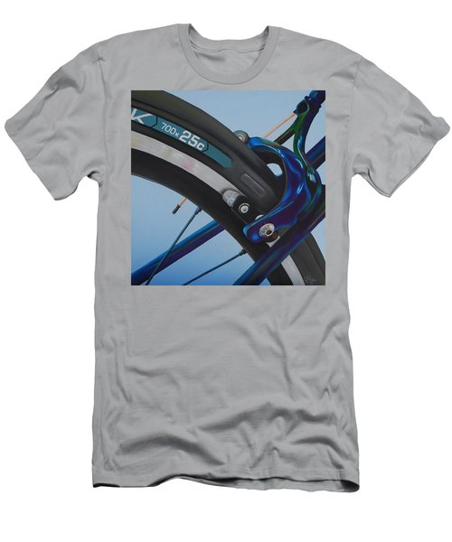 Bike Brake Men's T-Shirt (Athletic Fit)