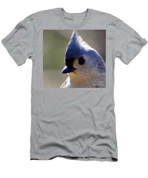 Men's T-Shirt (Slim Fit) featuring the photograph Bird Photography Series Nmr 3 by Elizabeth Coats