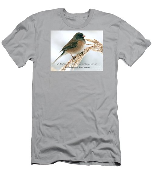 Birdsong Men's T-Shirt (Athletic Fit)