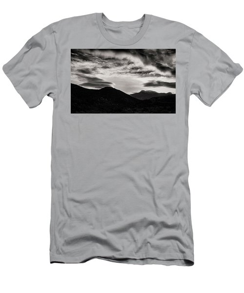 Men's T-Shirt (Slim Fit) featuring the photograph Black And White Sunrise by Joseph Hollingsworth