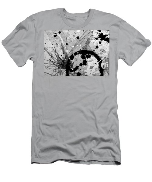 Black And White Three Men's T-Shirt (Athletic Fit)