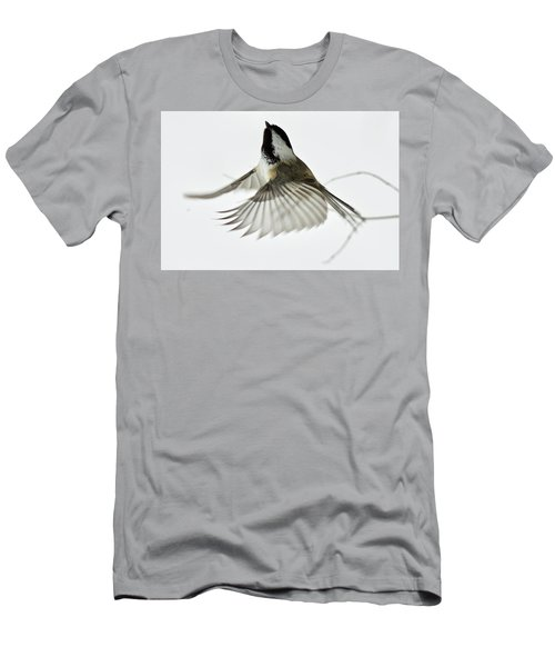 Black-capped Chickadee 6215 Men's T-Shirt (Athletic Fit)