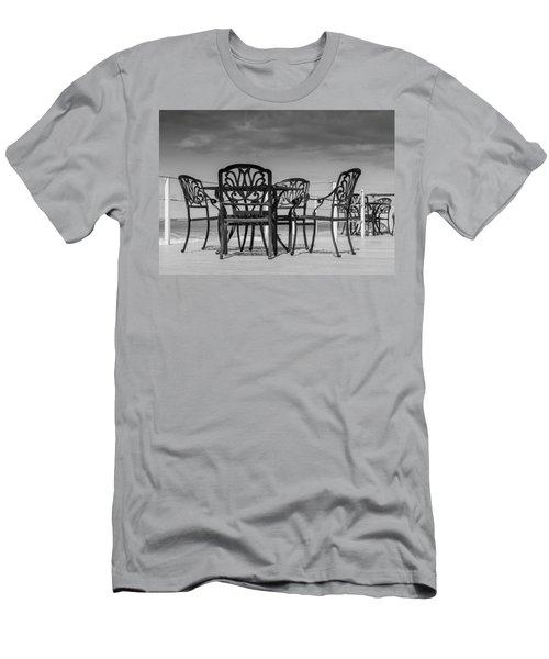 Black Cast Iron Seats Men's T-Shirt (Athletic Fit)