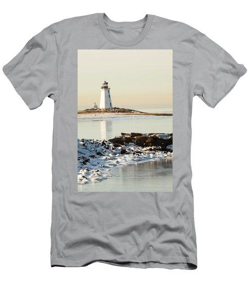 Black Rock Harbor Men's T-Shirt (Athletic Fit)