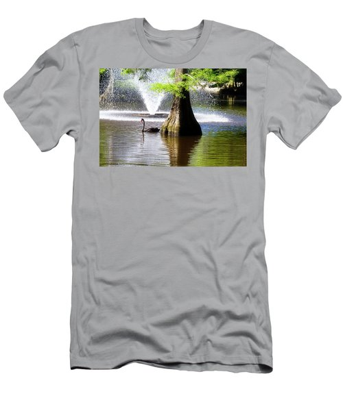 Black Swan Men's T-Shirt (Athletic Fit)