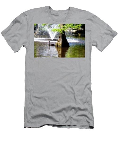 Black Swan Men's T-Shirt (Athletic Fit)