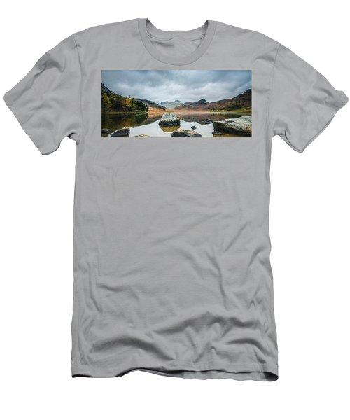 Blea Tarn In Cumbria Men's T-Shirt (Athletic Fit)