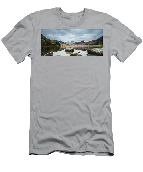 Blea Tarn In Cumbria Men's T-Shirt (Athletic Fit)